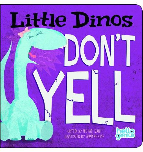 Little Dinos Don't Yell - owlreadersclub