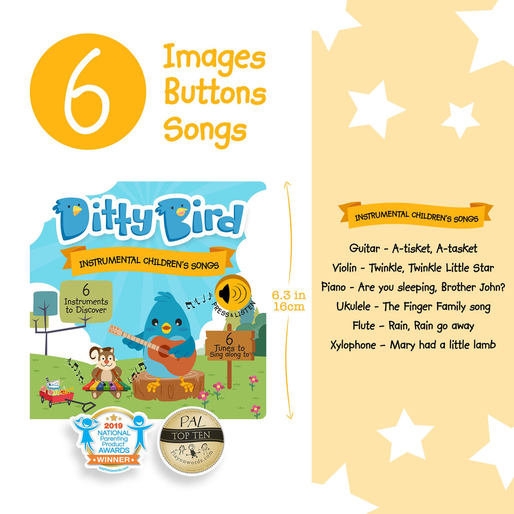 Exclusive - Ditty Bird - Instrumental Children's Songs