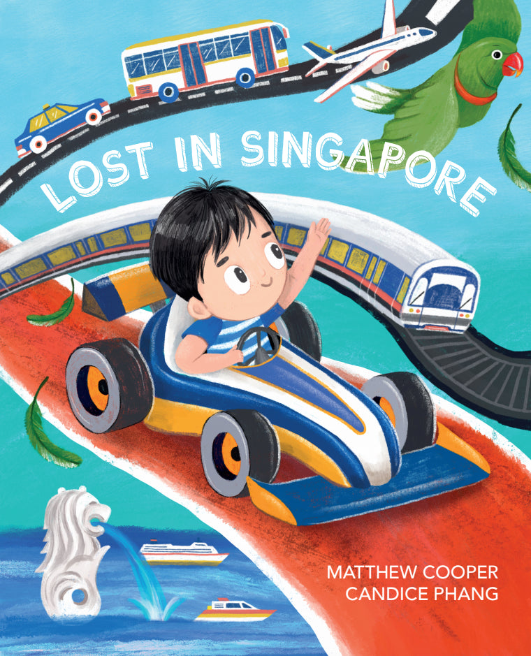 Lost in Singapore - owlreadersclub