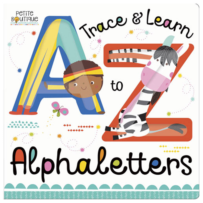 Petite Boutique Trace And Learn Alphaletters - owlreadersclub