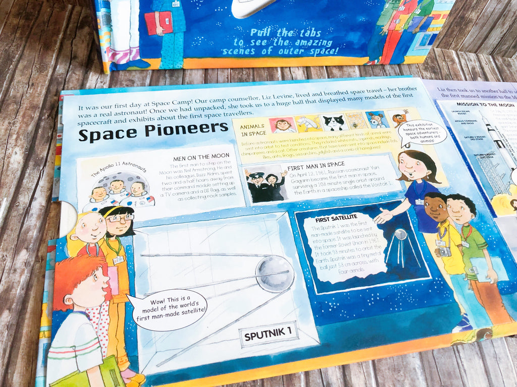 A Magic Skeleton Book : Space Discovery - owlreadersclub
