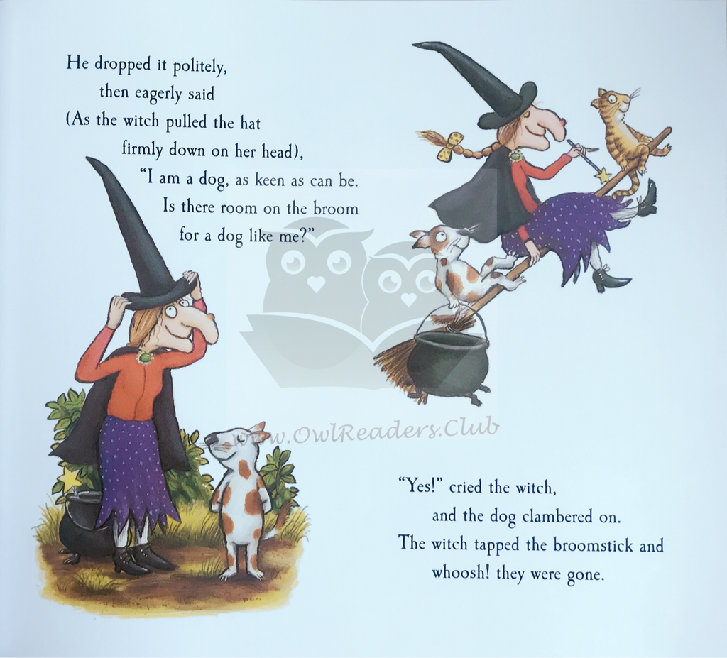 Room on the Broom - owlreadersclub