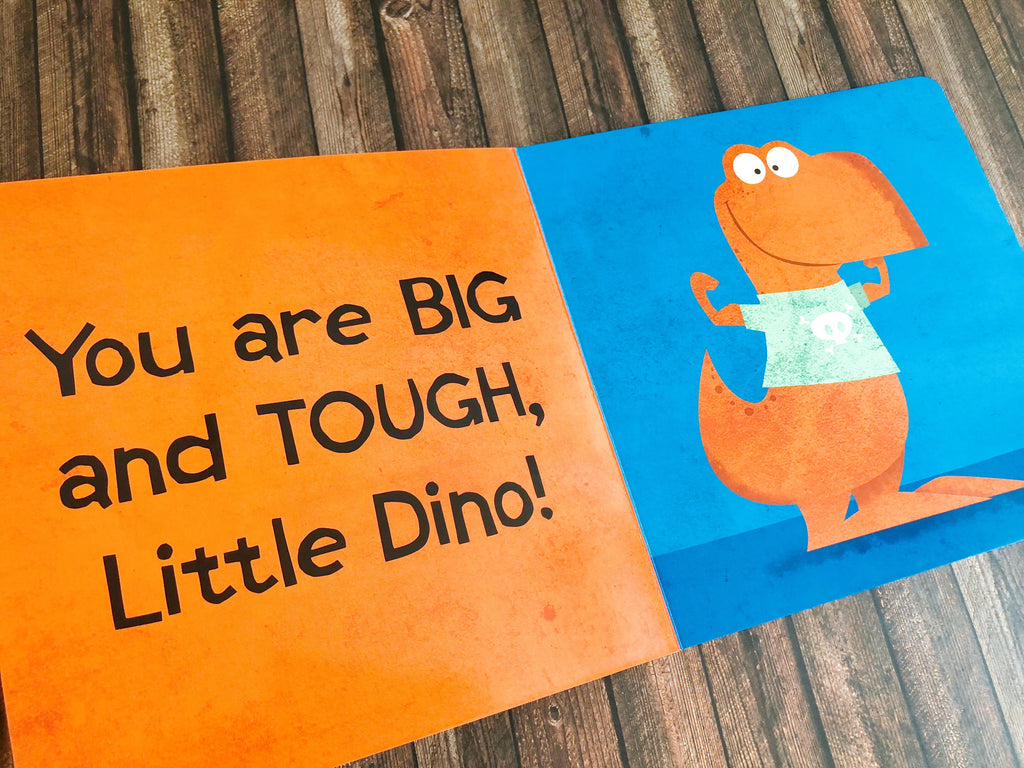 Little Dinos Don't Push - owlreadersclub