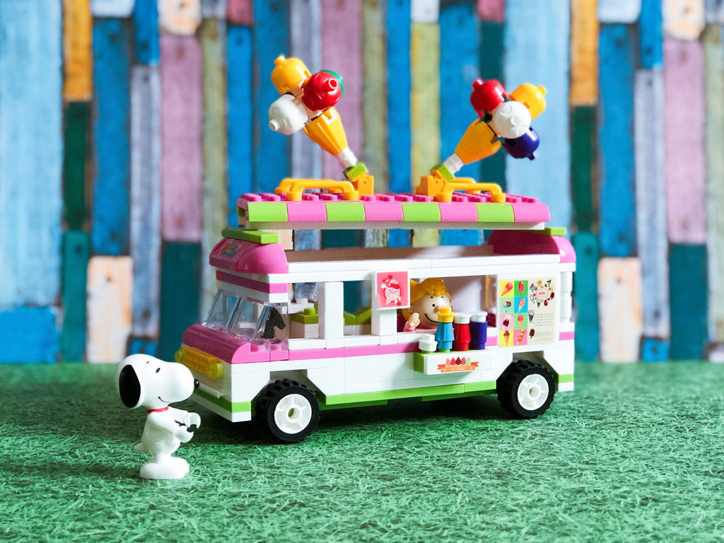 Snoopy's Ice Cream Truck (Sold Out) - owlreadersclub