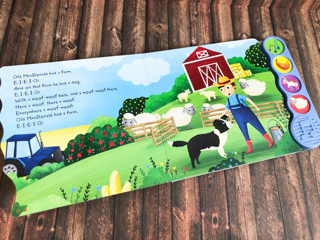 Old MacDonald Had a Farm - First Steps 4 Sound Book - owlreadersclub