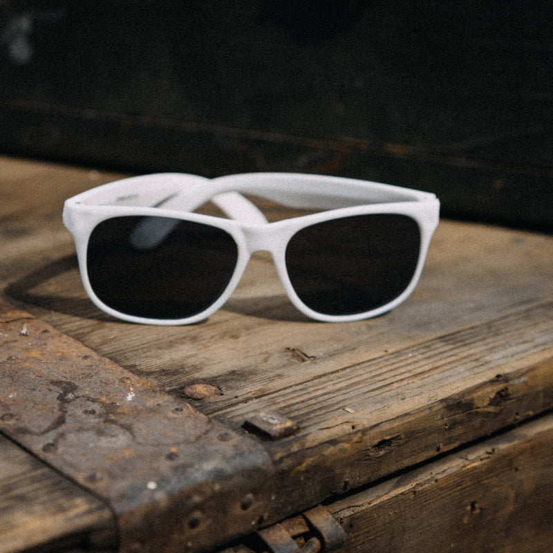 Rotten Rat White Sunglasses