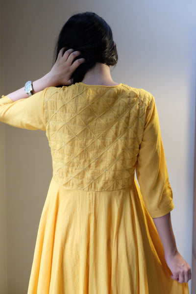 Haldi Waterlily Dress - shopraiman