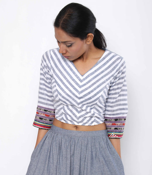 Banjara Tie Up Top - shopraiman