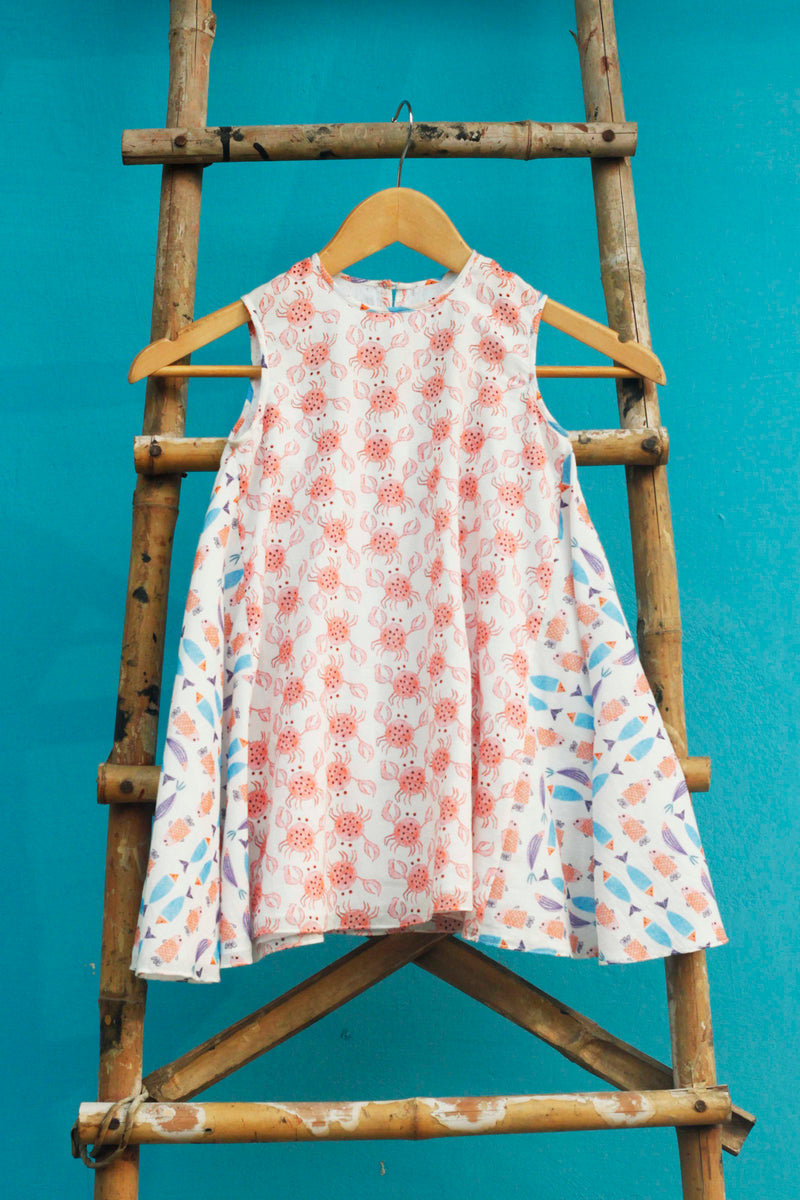 The Crab and Fish Dress - shopraiman