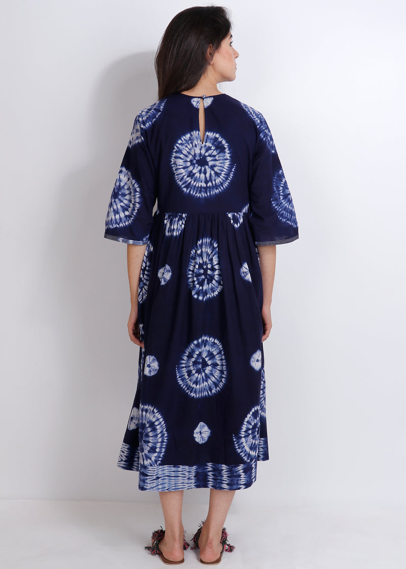 Shibori Magnolia Dress - shopraiman