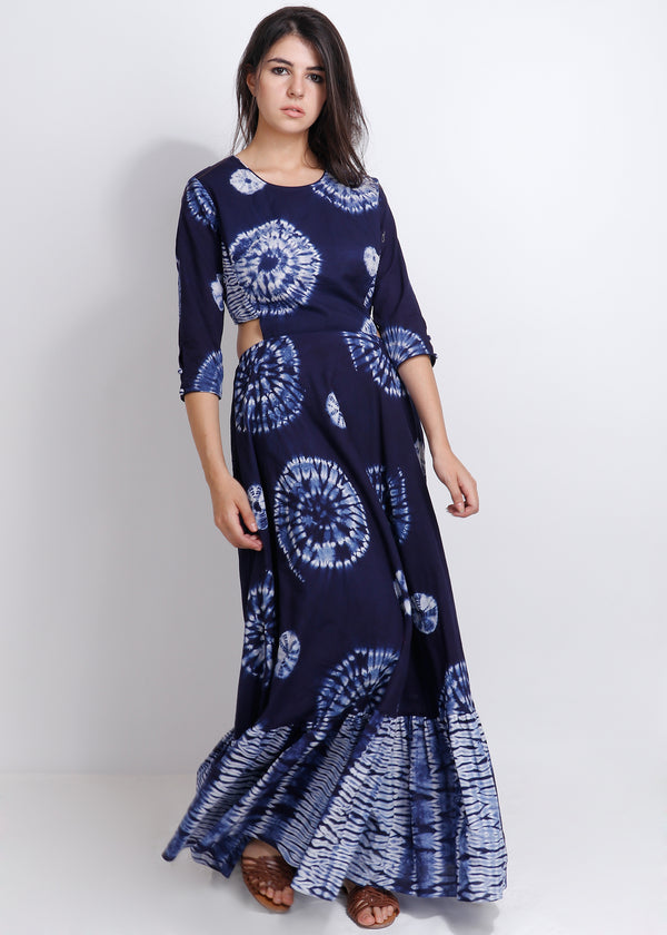 Shibori Dianella Dress - shopraiman