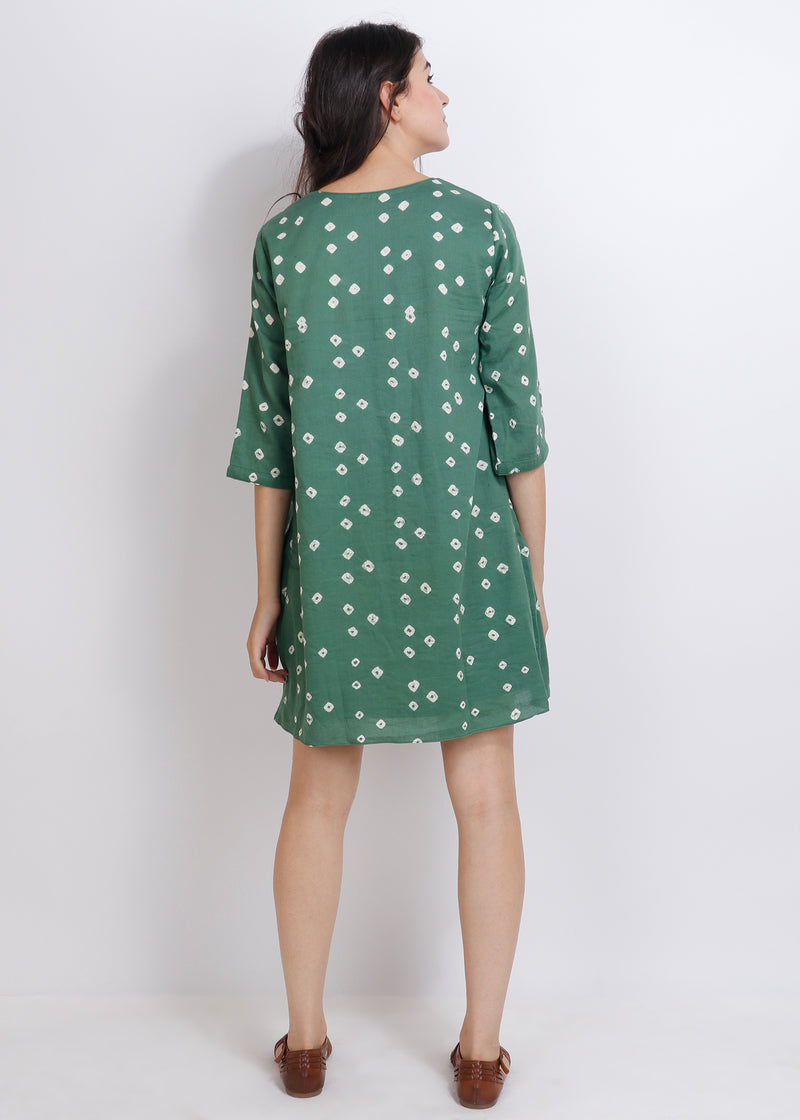 Bandhej short dress - shopraiman