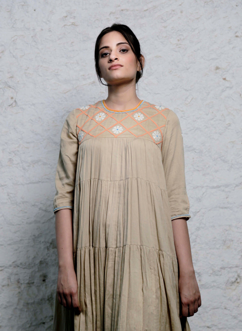 Waterlily Panel Dress - shopraiman