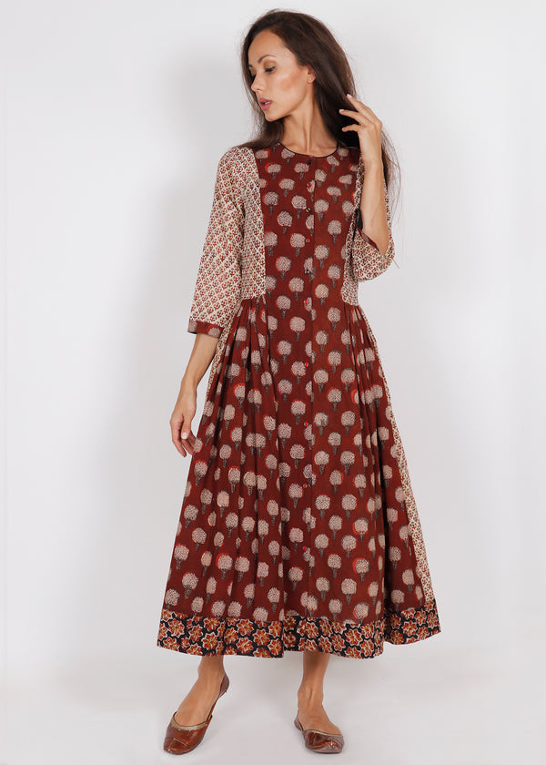 Buta Peshi Dress - shopraiman