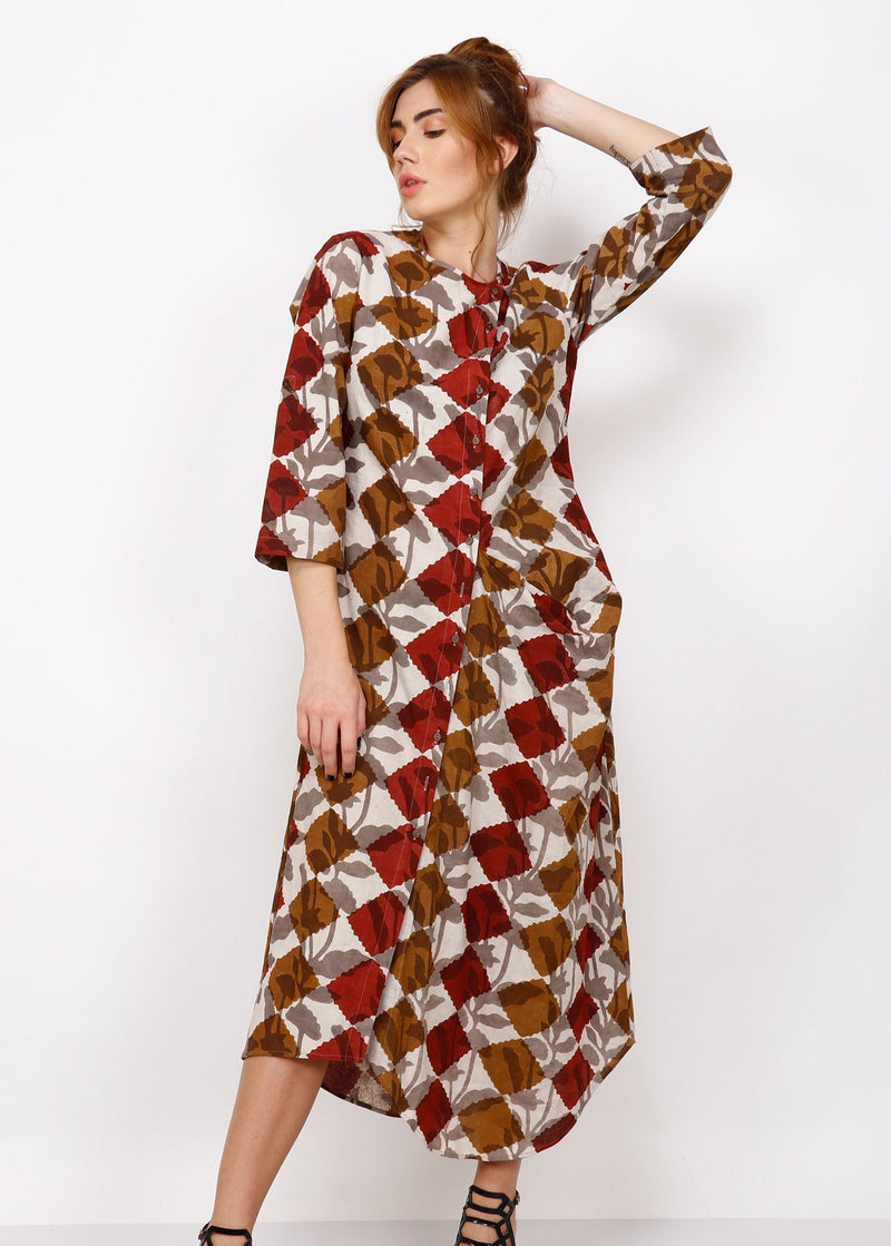 Aster shirt dress - shopraiman