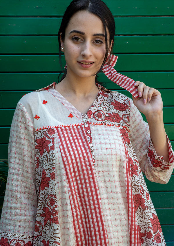 Gypsy Folk Panel Tunic