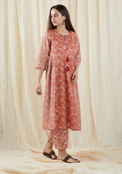 Peach Peshi Tunic