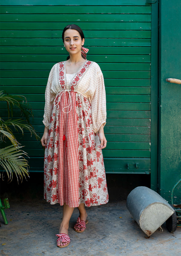 Gypsy Folk Mallow Dress