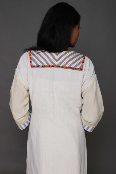 Cotton Folk Tunic - shopraiman