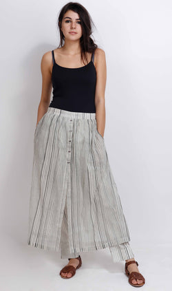Grey Salvia Pants - shopraiman