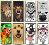 M2 Cute Animal Giraffe Dog The Lion King Cases For Sony Xperia M2 S50h Dual D2302 D2305 D2303 D2306 Phone Case Cover Shell -