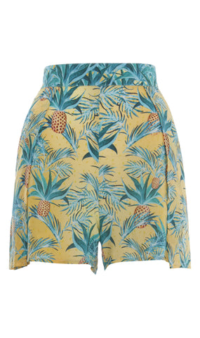 Ananas Wrap Around Shorts