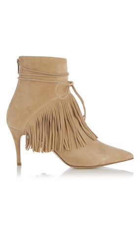 Mimi tassle suede ankle boot
