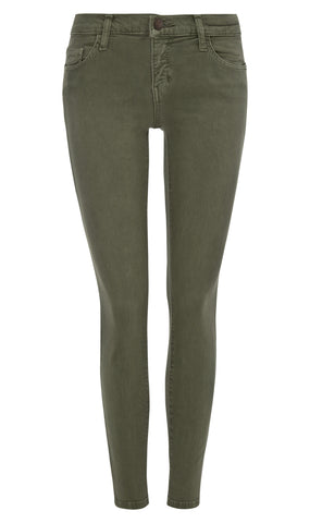 The Stiletto Jean in army green