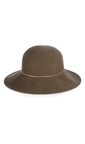 Blake wool and chain hat