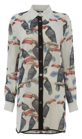 The Rafters silk button up