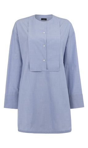 Christian chambray shirting