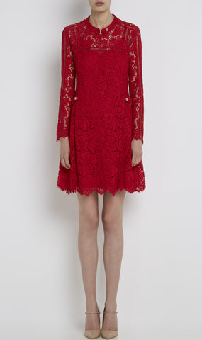 Leister lace dress
