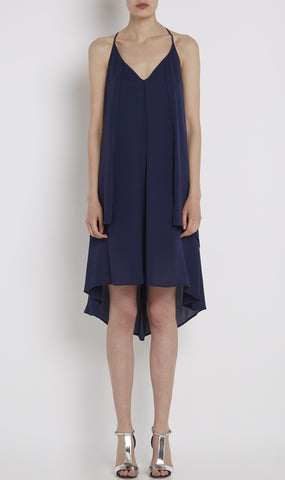 Lena silk dress