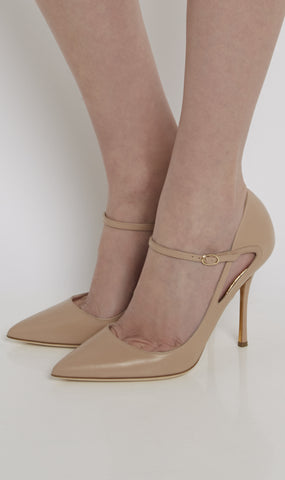 Susanna leather pumps