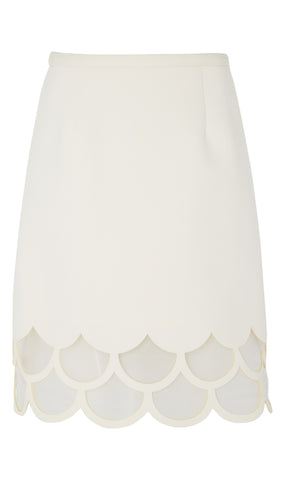 A-Line lasercut neoprene skirt