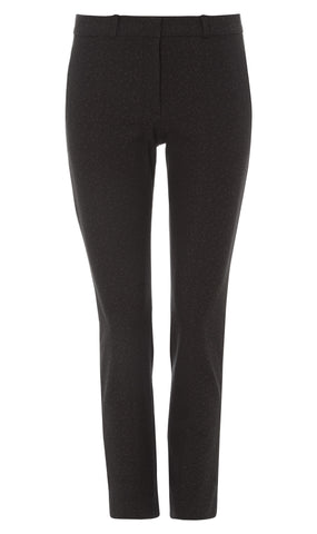 Grey New Eliston stretch jacquard trousers