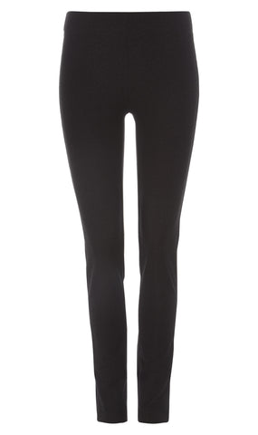 Black Stretch jacquard leggings