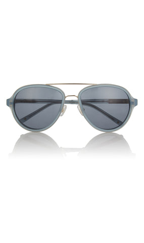 Linda Farrow for 3.1 Phillip Lim Aviator Acetate And Metal Sunglasses