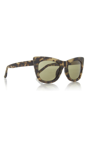 Linda Farrow for 3.1 Phillip Lim Cat Eye Tortoiseshell Acetate Sunglasses