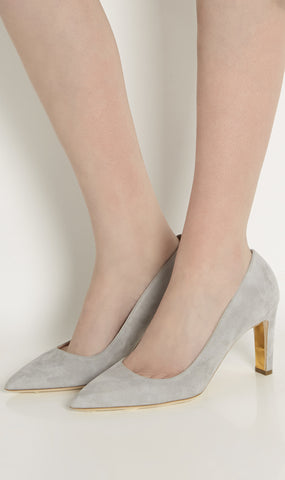 Linda suede pumps