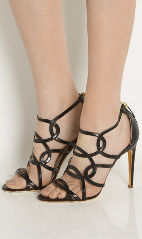 Vendetta leather sandals