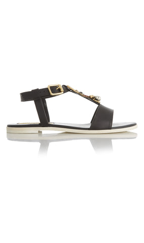 "Cara leather ""Andy"" sandals"