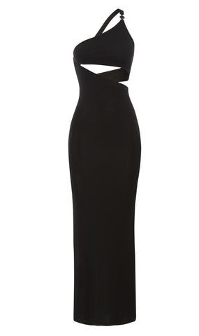 Gianni Versace couture 1994 silk jersey cut-out evening gown
