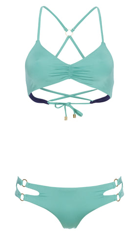 Seaside Dreams bralette top bikini