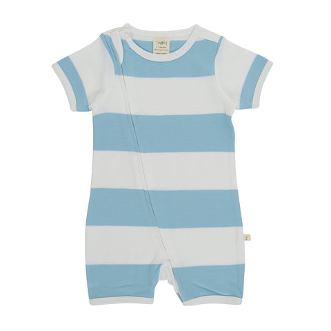 Tiny Twig - Nautical Stripes - Zipsuit
