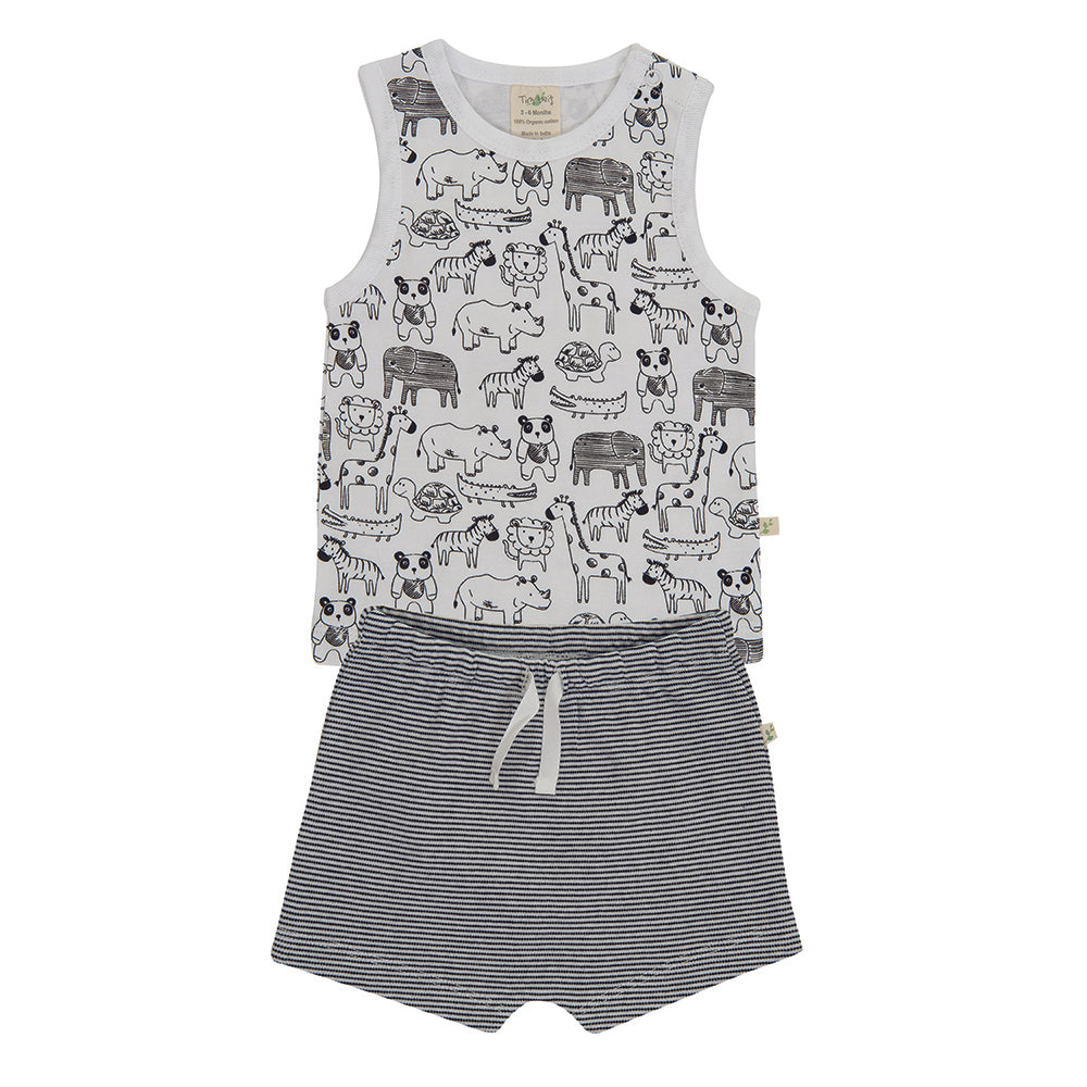 Tiny Twig - Jungle Jive - Singlet Set