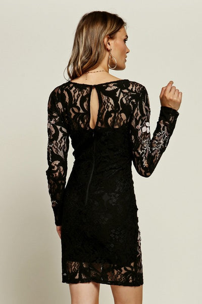 Close To You Embroidered Lace Dress