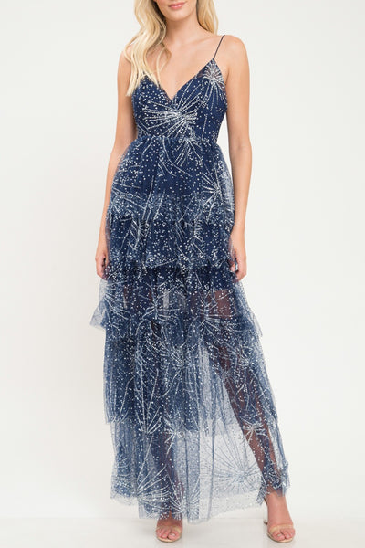 Baby You're a Firework Navy Maxi Dress
