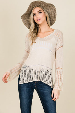 Vacation Vibes Lightweight Sweater (more colors)