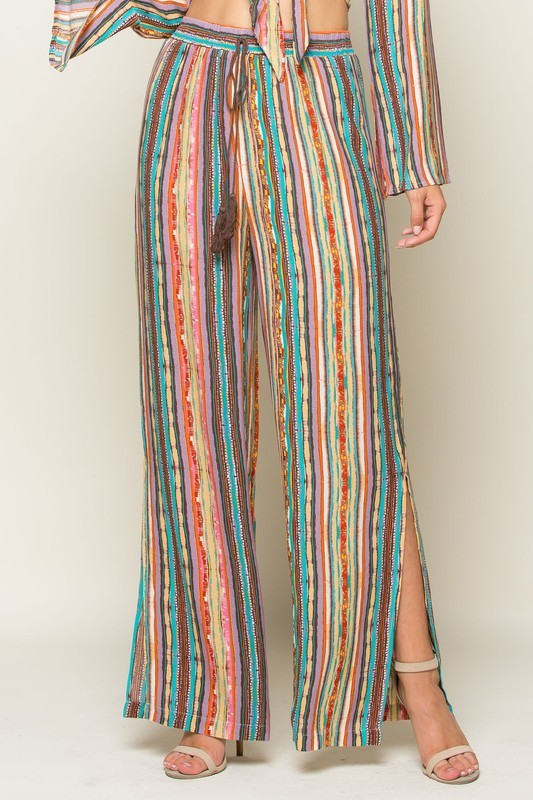Salsa Time Striped Pants